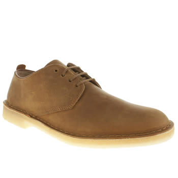 Clarks Originals Tan Desert London Shoes