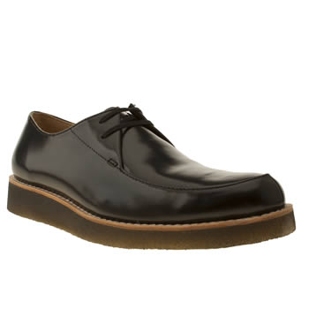 Clarks Originals Black Desert Rustler Shoes