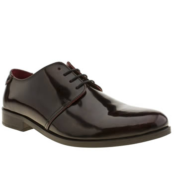 Mens Base London Burgundy Churchill Shoes