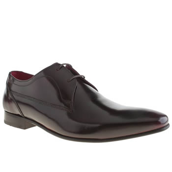 Mens Base London Burgundy Base Tailor Plain Gibson Shoes