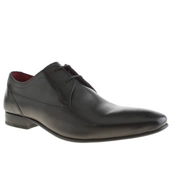 Mens Base London Black Base Tailor Plain Gibson Shoes