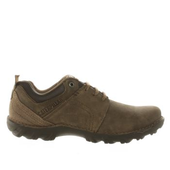Mens Cat-Footwear Brown Emerge Shoes
