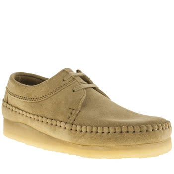 Mens Clarks Originals Natural Weaver Shoes