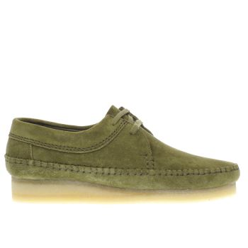 Clarks Originals Khaki Weaver Shoes
