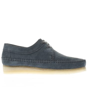 Clarks Originals Blue Weaver Mens Shoes