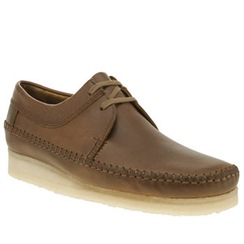 Mens Clarks Originals Tan Weaver Shoes