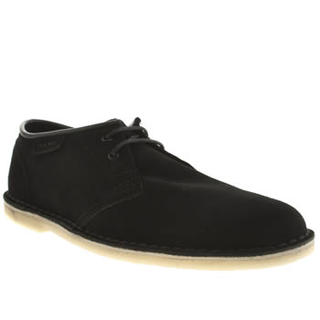 Mens Clarks Originals Black Jink Shoes