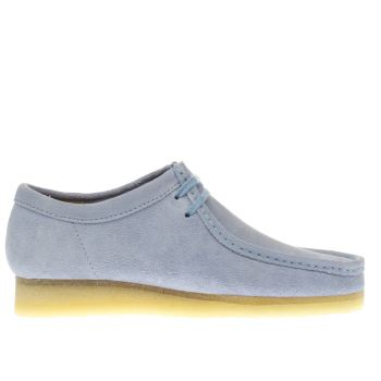 Clarks Originals Pale Blue Wallabee Shoes