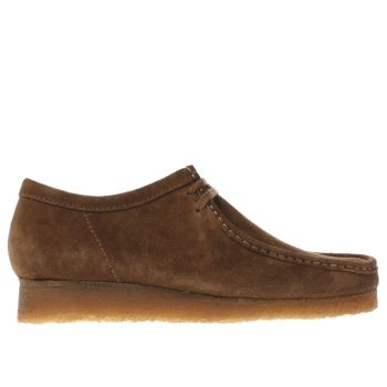 Mens Clarks Originals Brown Wallabee Shoes
