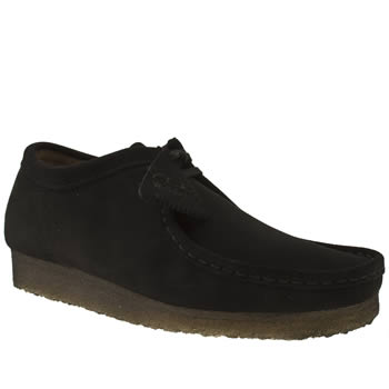 Clarks Originals Black Clarks Wallabee Shoes