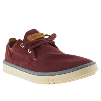 mens timberland burgundy earthkeepers hookset ox shoes