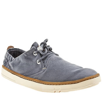 Mens Timberland Navy Earthkeeper Hookset Oxford Shoes