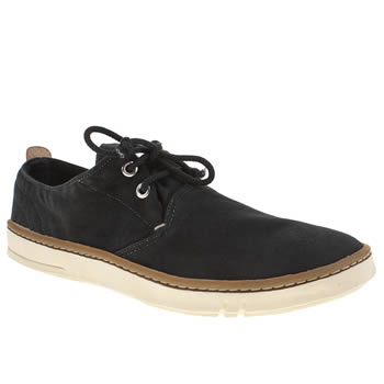 Mens Timberland Black Earthkeepers Hookset Oxford Shoes