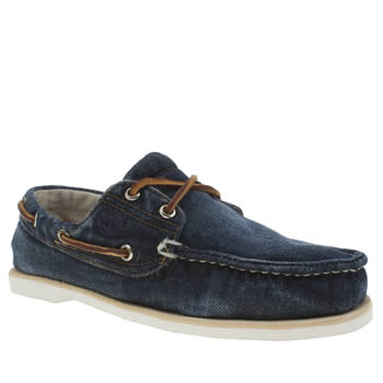 Mens Timberland Blue Classic Boat Shoes