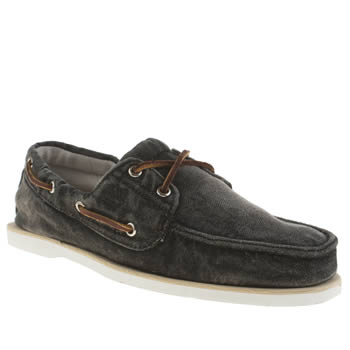 Timberland Black Classic Boat Shoes