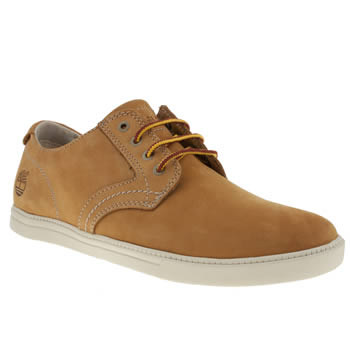 Mens Timberland Natural Newmarket Lp Oxford Shoes