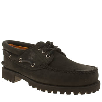 Timberland Black 3 Eye Classic Lug Shoes
