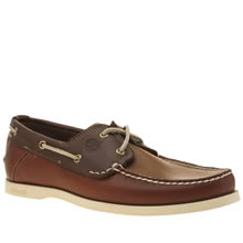 Timberland Brown Heritage Boat Mens Shoes