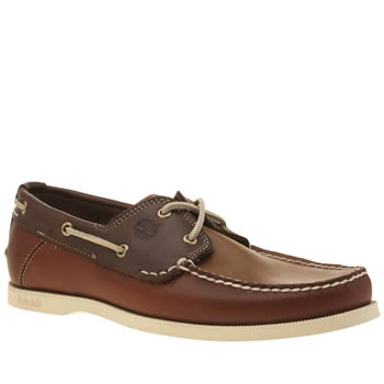 Timberland Brown Heritage Boat Shoes