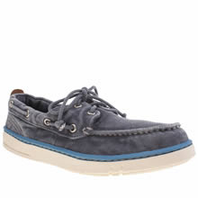 Timberland Blue Hookset Handcrafted Boat Mens Shoes
