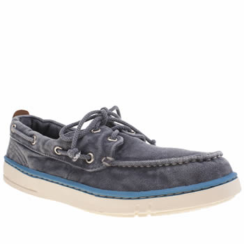Timberland Blue Hookset Handcrafted Boat Shoes