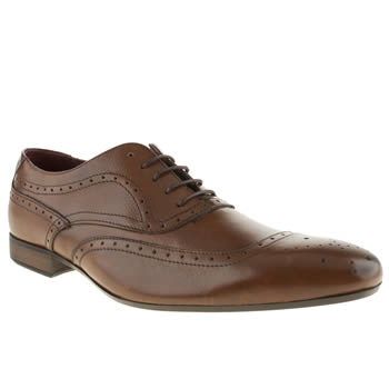 Mens Red Or Dead Tan Mr Mayall Oxford Shoes
