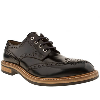 Mens Red Or Dead Navy Mr Renton Brogue Shoes