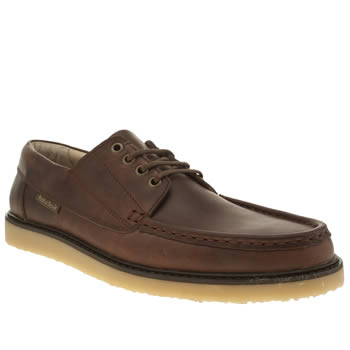 Mens Red Or Dead Tan Mr Gable Moc 4 Eye Shoes