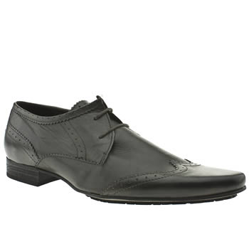 H By Hudson Grey Swinger Wing Shoes