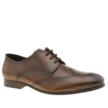 H By Hudson Brown Williston Brogue Mens Shoes