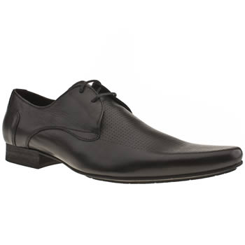 Mens H By Hudson Black Swinger Perf Shoes