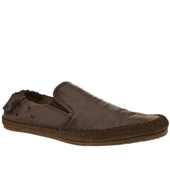mens h by hudson brown espadrille shoes