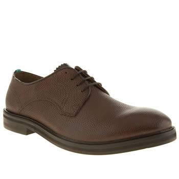 Mens Red Or Dead Brown Mr Brearly 4 Eye Shoes