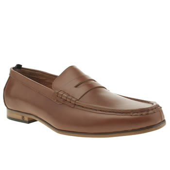 Peter Werth Tan Statham Loafer Shoes