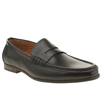Peter Werth Black Statham Loafer Shoes