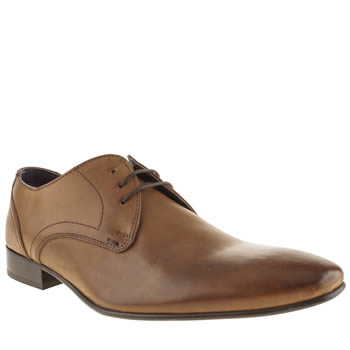 Mens Ikon Tan Sickle 3 Eye Shoes