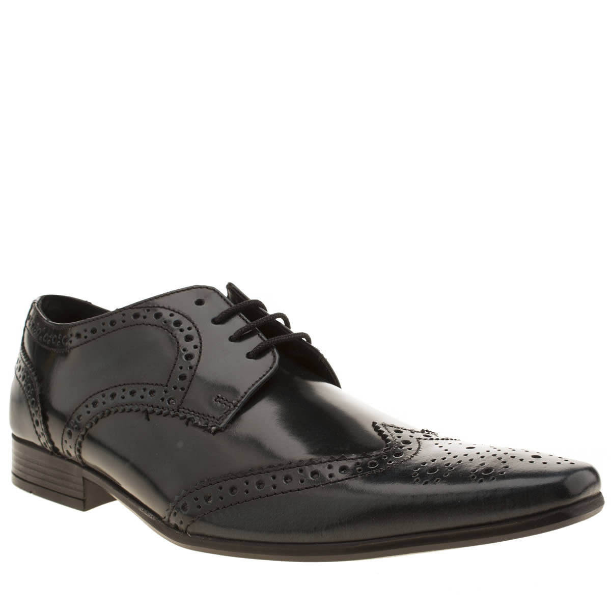 Ikon Ikon Blue Hugo Wing Brogue Shoes