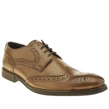 Ikon Tan Poster Brogue Mens Shoes