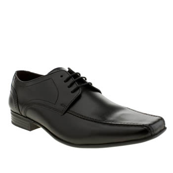 Ikon Black English Tram Gibson Shoes