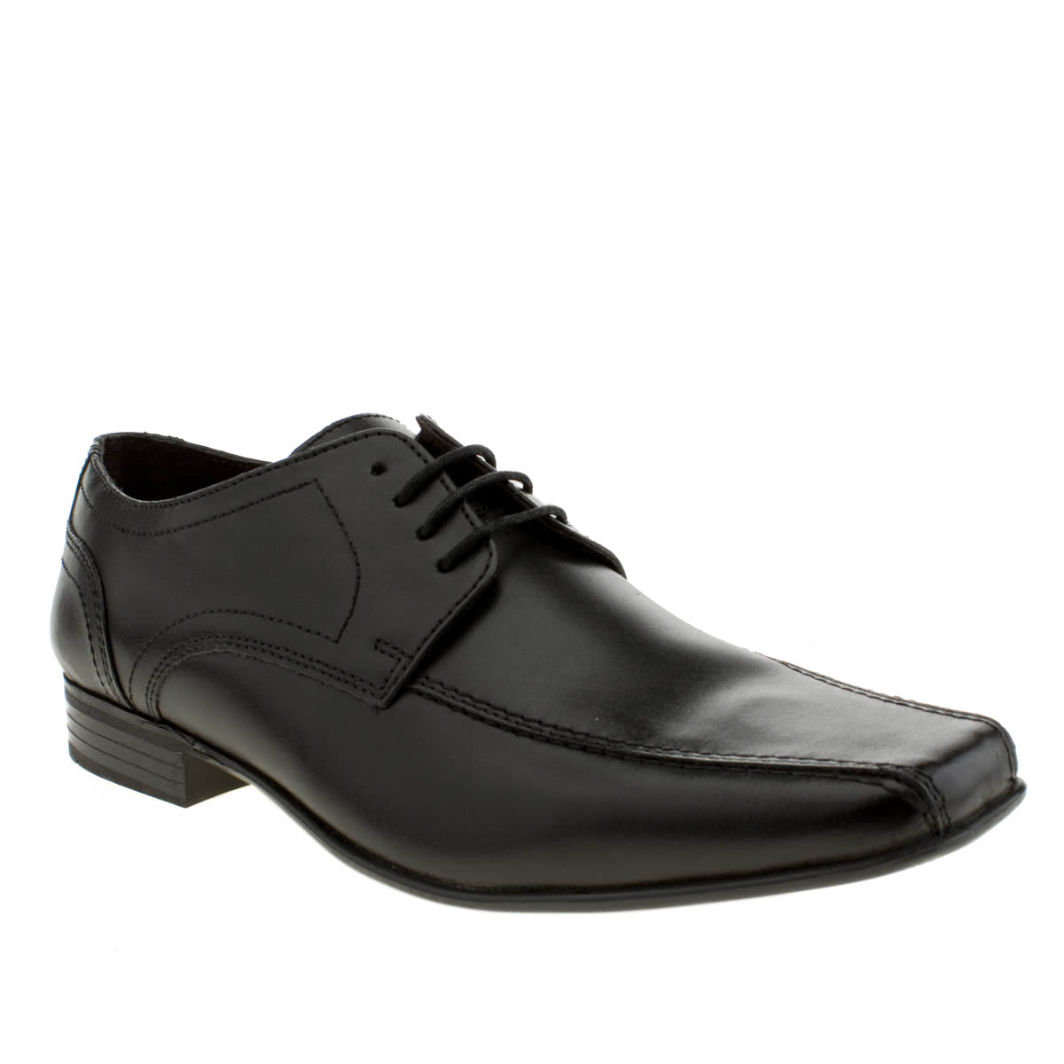 Ikon Ikon Black English Tram Gibson Shoes