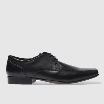 Ikon Black English Ii Lace Shoes