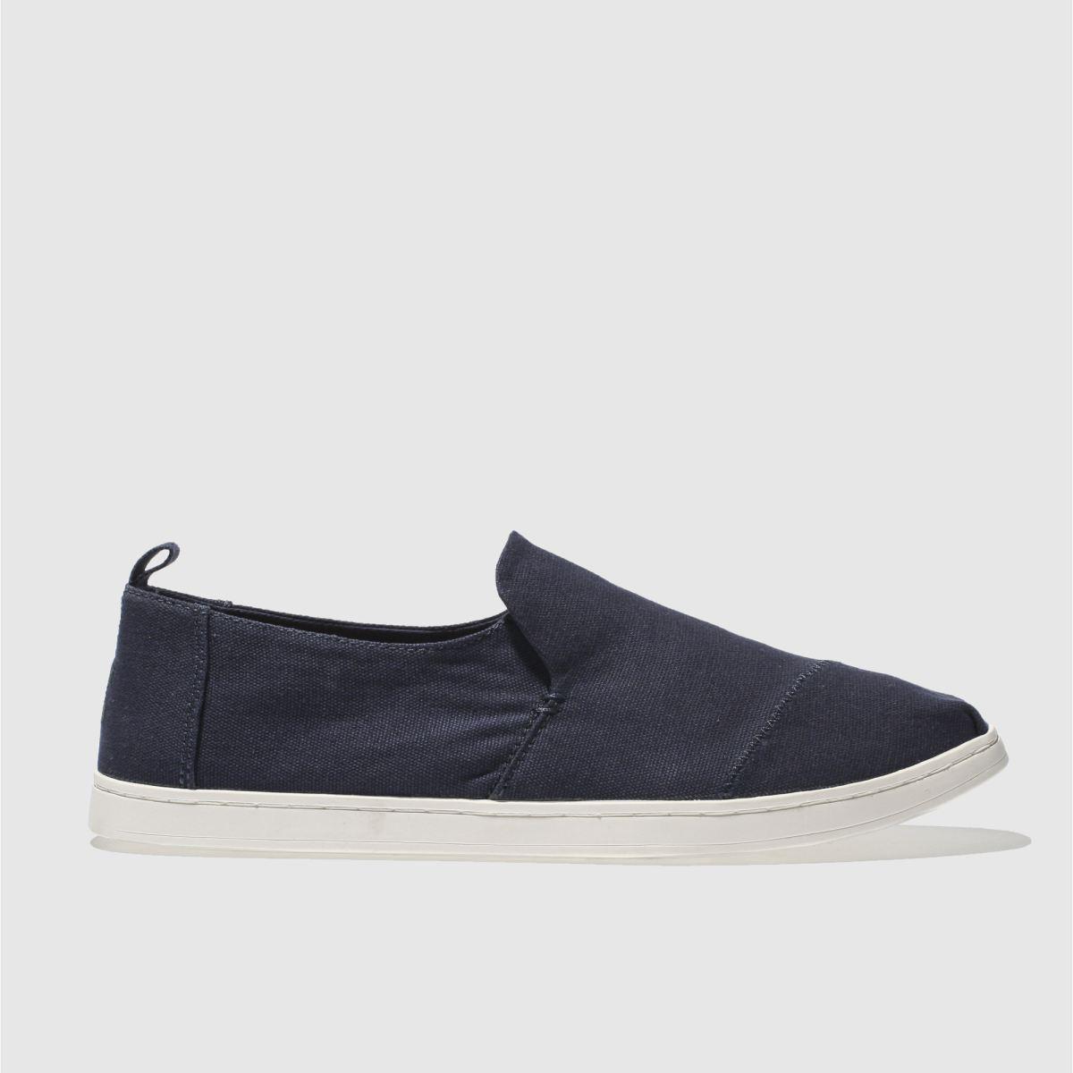 Toms Navy Deconstructed Alpargata Shoes