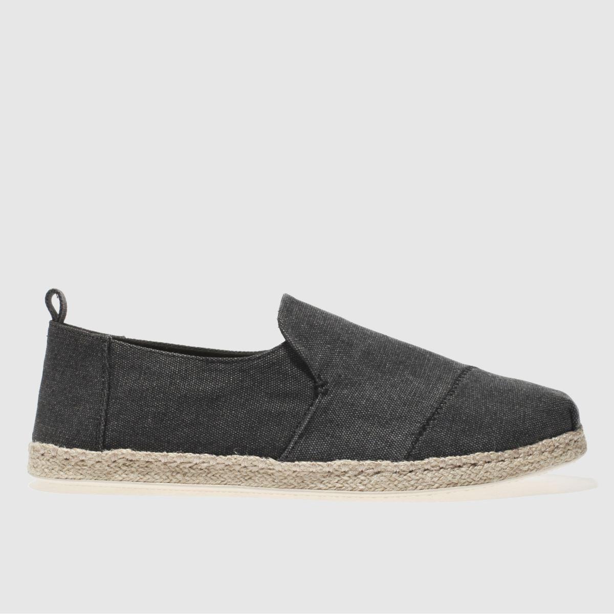 TOMS Toms Black Deconstructed Alpargata Shoes