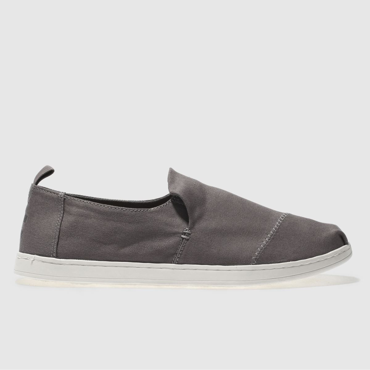 Toms Grey Deconstructed Alpargata Shoes