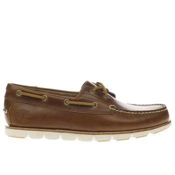 Timberland Brown Tidelands 2 Eye Mens Shoes