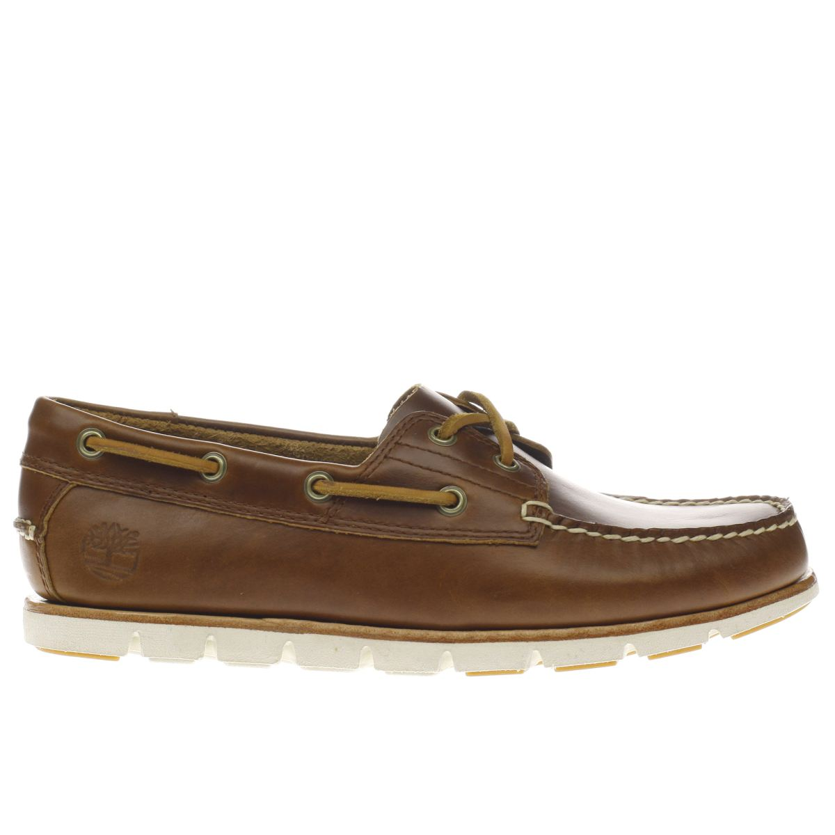 timberland brown tidelands 2 eye shoes