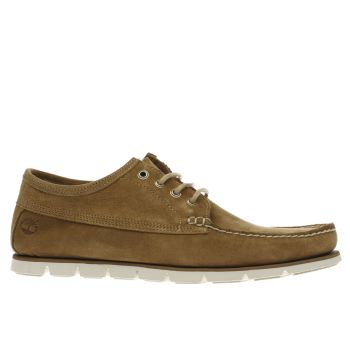Timberland Light Brown  Tidelands Ranger Moccassin Shoes
