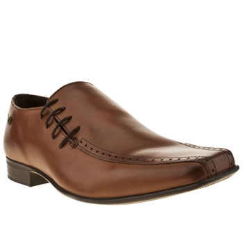 Ikon Brown English Side Lace Shoes