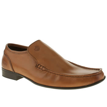 Ikon Tan English Loafer Shoes