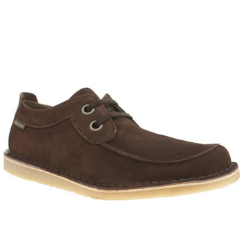Red Or Dead Dark Brown Mr Briggs Science Lace Shoes